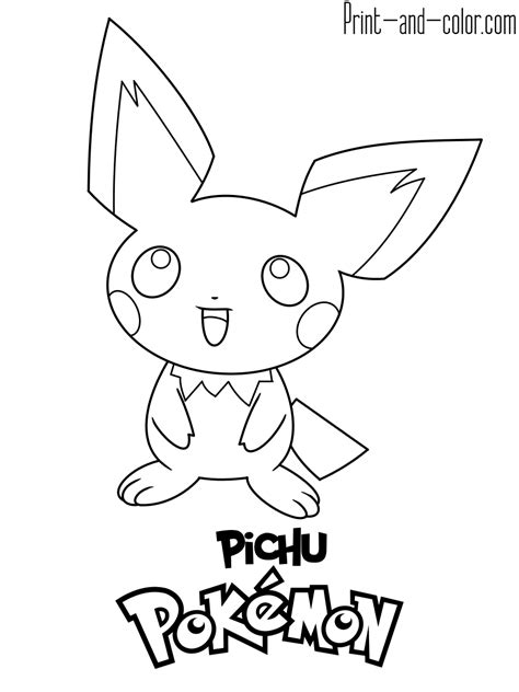 pokemon coloring pages print  colorcom