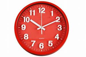 Horloge Murale Rouge : horloge murale rouge bigben horloges design pas cher ~ Teatrodelosmanantiales.com Idées de Décoration