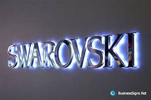 sign backlit letters 3d led backlit signs with mirror With 3d led sign letters