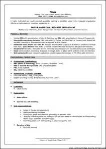 Canada Resume Format For It Professionals by Exles Of Resumes Standard Format Resume In Canada