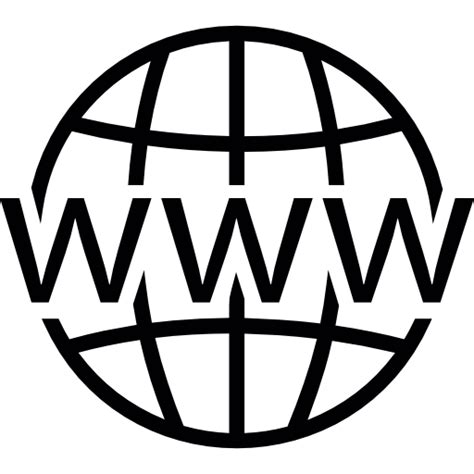 world wide web on grid free web icons