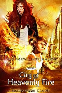 City of Heavenly Fire (fake cover) by Martange on DeviantArt