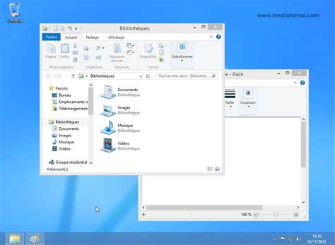 icone sur le bureau windows 8 1 le bureau est toujours là médiaforma