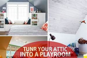 Turn The Attic Into A Perfect Play Area For The Kids - 25