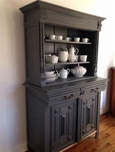 17 meilleures idees a propos de vaisselier peint sur With relooker meuble ancien bois