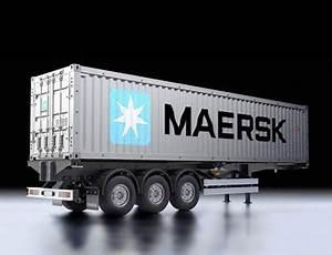 40 Fuß Container In Meter : modell truck 40 fu container auflieger maersk ~ Whattoseeinmadrid.com Haus und Dekorationen