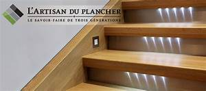 Realiser Un Plancher Bois : finition escalier l artisan du plancher 514 232 3465 ~ Dailycaller-alerts.com Idées de Décoration