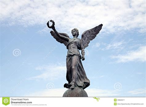 siege de nike goddess of victory royalty free stock photography