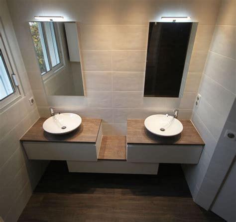 meuble vasques d 233 cal 233 entre mur atlantic bain