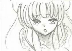 Anime Drawings In Pencil Easy Images   Pictures - Becuo  Simple Drawing In Pencil