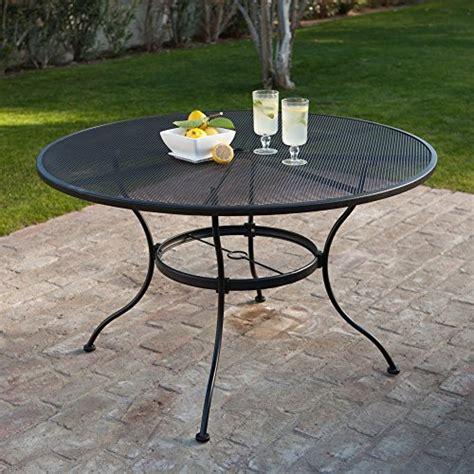 cheap patio table 6 z3year cheap woodard stanton 48 in wrought