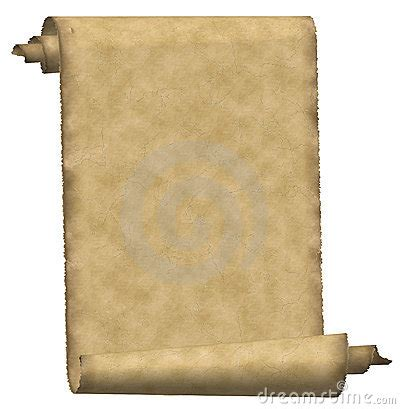 vintage scroll paper royalty  stock photo image