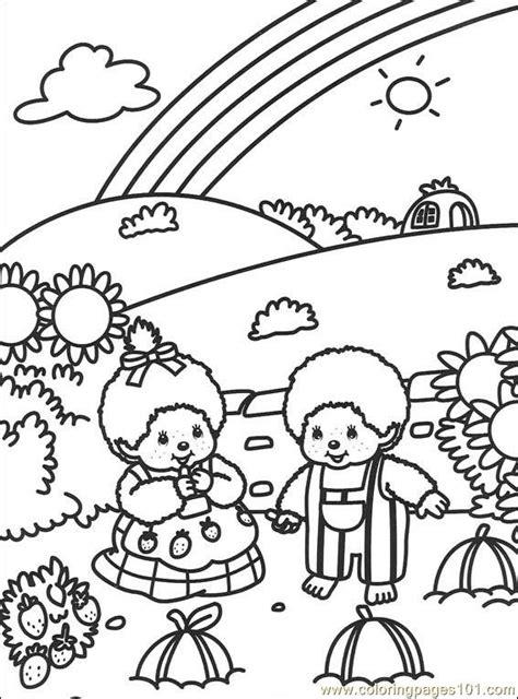 malvorlagen fur kinder ausmalbilder monchichi kostenlos page    konabeun