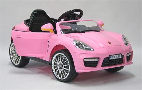 pink kid car kids electric car luxury suv 12v pink