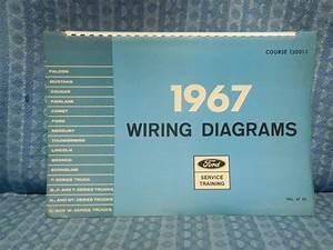 1966 Ford Mustang Wiring Diagram Manual Reprint
