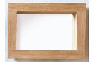 Miroir en teck pour la salle de bains avec encadrement for Miroir salle de bain encadrement bois