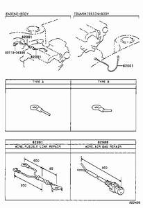 Toyota Corolla Block Assembly  Fusible Link  Wiring