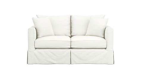 Slipcover For Sleeper Sofa by Slipcover Only For Willow Sleeper Sofa Snow Crate