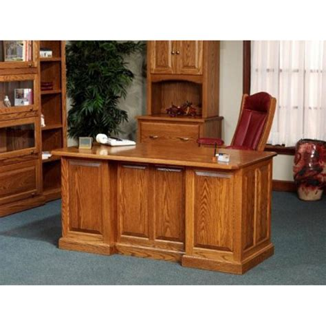 amish made oak table and chairs 860 executive desk 54 860 amish oak office furniture made