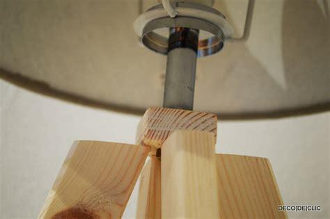 cr 233 ez une le de chevet en bois brut id 233 es d 233 co originales 224 partir de mat 233 riaux de r 233 cup 233 ration