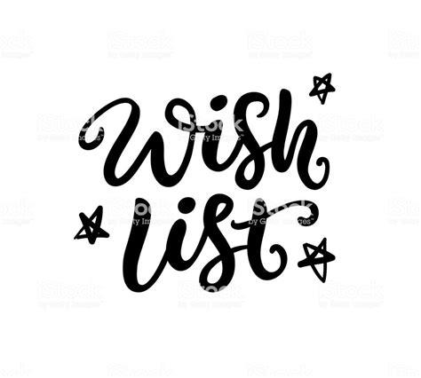 list phrase christmas ink lettering stock vector art