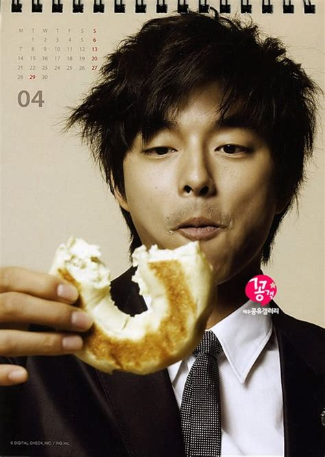 The song that you can hear gong yoo sing in coffee prince. Korean Star: Gong Yoo's new 2008 calendar