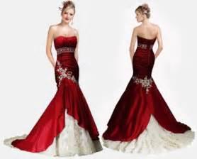 crimson bridesmaid dresses mermaid wedding dresses cherry