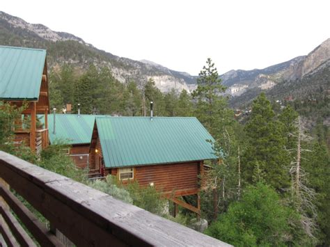 mt charleston cabins view from the balcony yelp