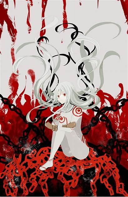 Deadman Wonderland Shiro Anime Manga Fan Blood