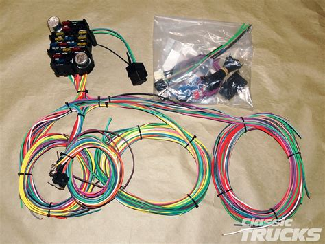 Loom Wiring For 89 Dodge Truck by Aftermarket Wiring Harness Install Rod Network