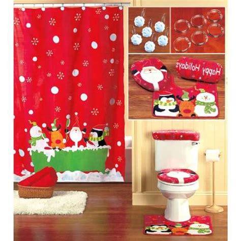 christmas shower curtain set decor ideasdecor ideas