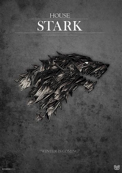 Stark Thrones Posters Wallpapers Poster Winter Coming