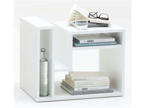 table d appoint fritz coloris blanc chez conforama