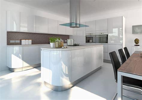 howdens cuisine hoogglans witte keuken door kitchen cgi interieur inrichting