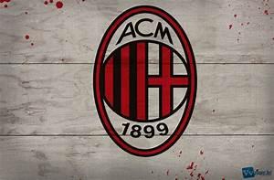 Kumpulan Gambar Logo Wallpaper AC Milan Terbaru
