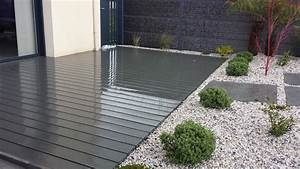 Terrasse En Composite : terrasse en composite terrasse en bois rennes ille et ~ Melissatoandfro.com Idées de Décoration