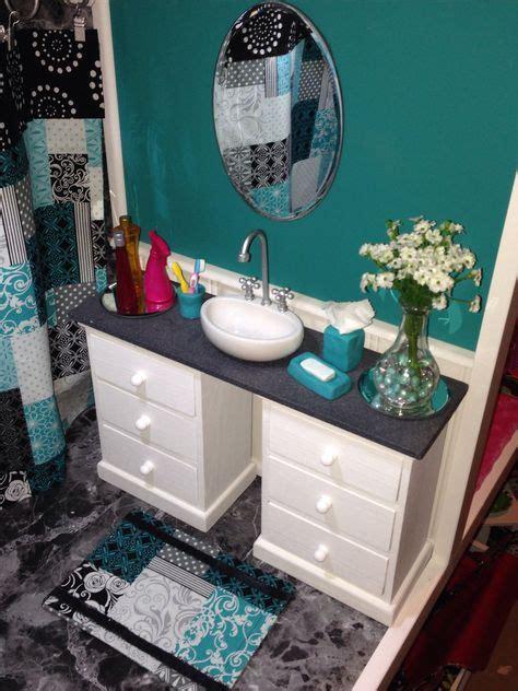 My Favorite Room In The Dollhouse The Bathroom Vanity