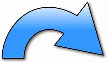 Arrow Redo Symbol Curved Right Clipart Icon