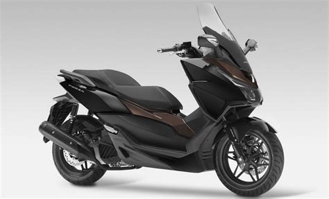 novo scooter honda forza   motorede