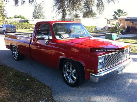 Completely 1985 Chevy Pickup Truck, 400 Small Block Chevy
