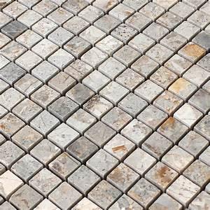 Stein Mosaik De : naturstein mosaik fliesen marron gold poliert ran48024 ~ Markanthonyermac.com Haus und Dekorationen