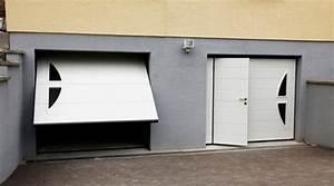 Prix d39une porte de garage avec portillon cout moyen for Porte de garage avec prix des portes