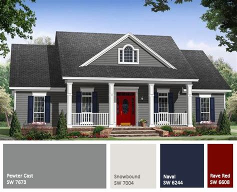 Exterior House Paints On Pinterest  Painting House