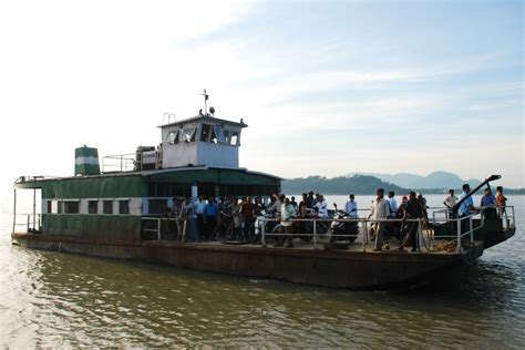 Boat Transport In India by Cruising The Brahmaputra River And Aswaklanta Temple Assam