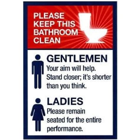 Printable Clean Bathroom Signs by 14 Best Images About Bathroom On Guest