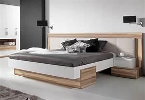 Lit Haut Adulte : lit avec dressing armoire armoire et lit haut de gamme pas cher ~ Teatrodelosmanantiales.com Idées de Décoration