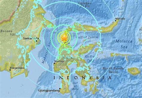 indonesia earthquake today tsunami occurs
