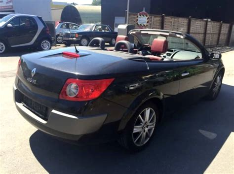 renault megane 1 9 dci coupe cabriolet luxe privilege 2005