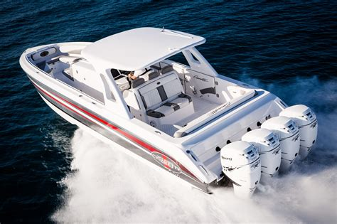 Center Console Performance Boats by Cigarette S Dynamic Duo