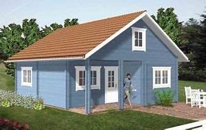 Holzhaus Ferienhaus Bauen : blockhaus ferienhaus holz g nstig selber bauen bausatz paris400 basteln pinterest ~ Markanthonyermac.com Haus und Dekorationen